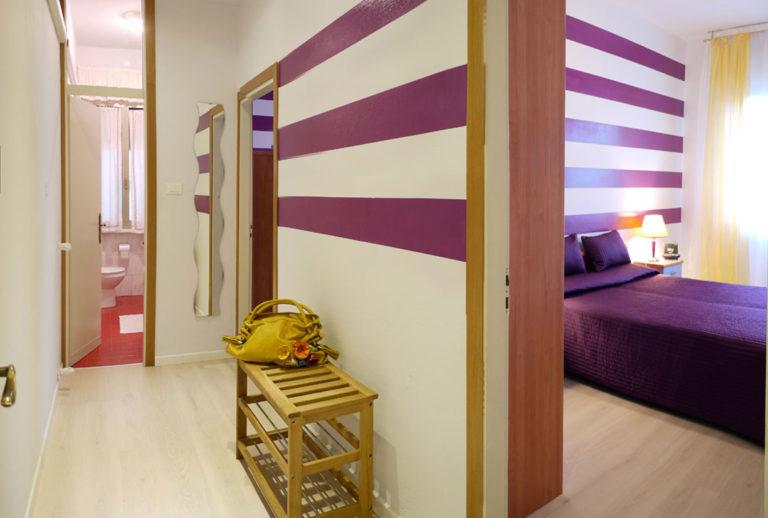Appartamento trilocale - Corridoio e zona notte