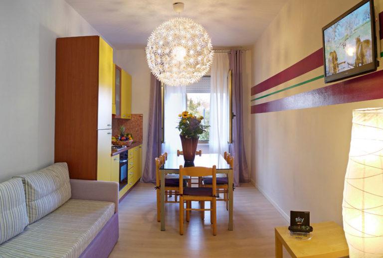 Appartamento trilocale - Zona giorno