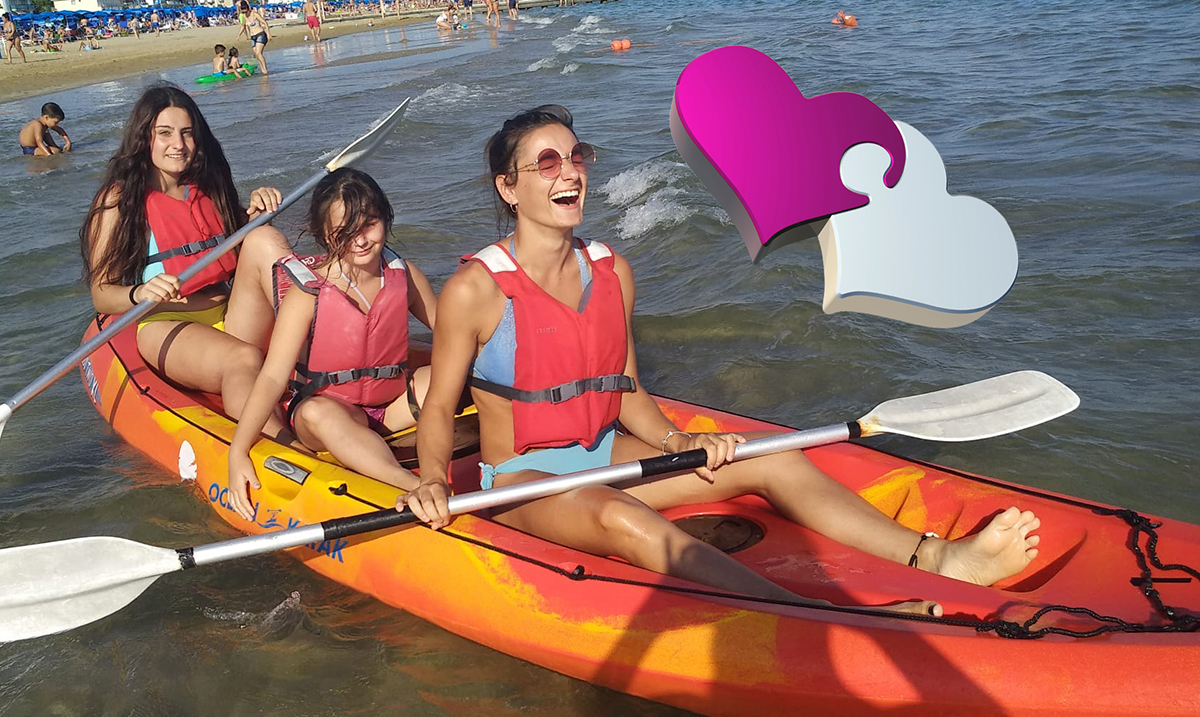 In canoa, kayak, o puddle surf in vacanza a Jesolo