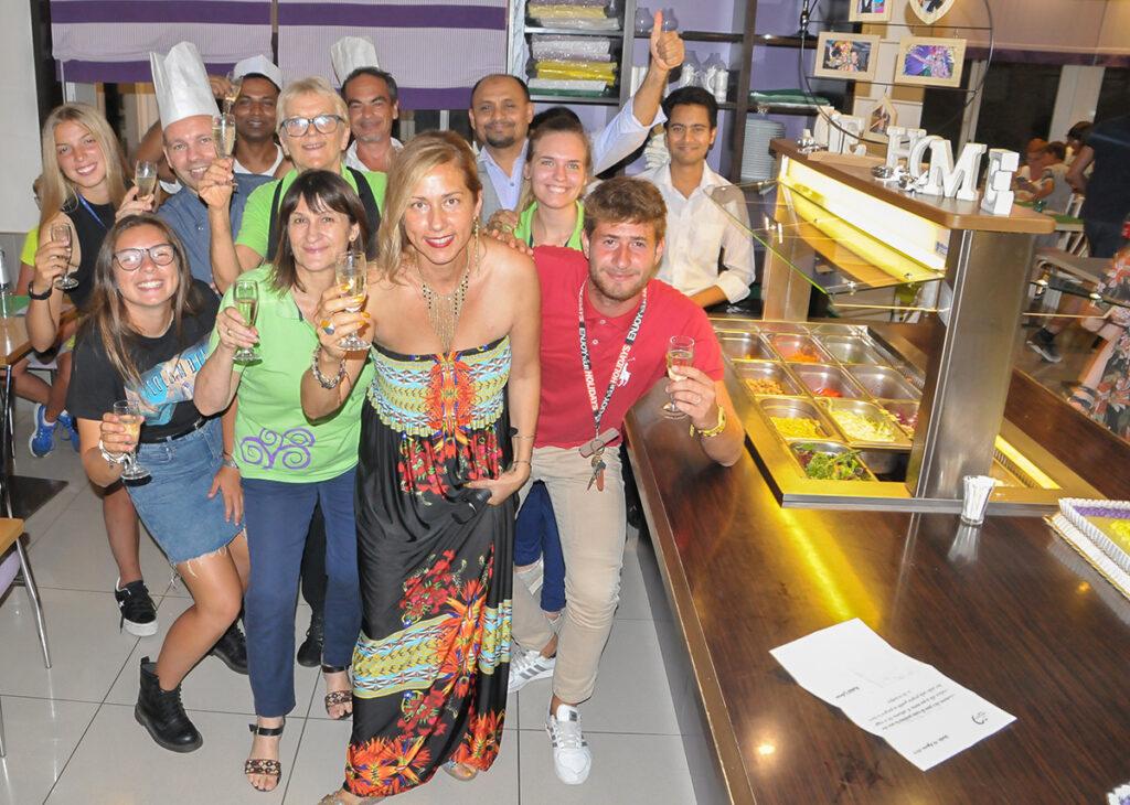 Il Team dell'Hotel Germania di Jesolo (Venezia)