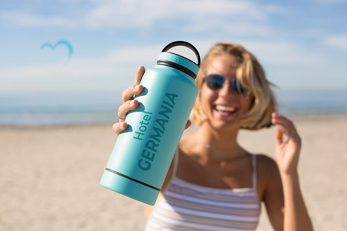 Allegria in spiaggia in vacanza all'Hotel Germania di Jesolo - Venezia